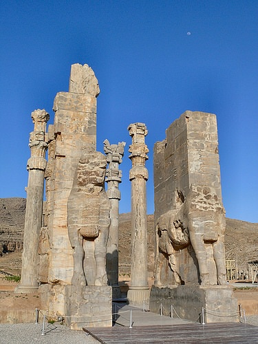 All Nations Gate at Persepolis (by dynamosquito, CC BY-SA)
