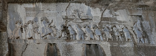 The Behistun Inscription (by dynamosquito, CC BY-SA)