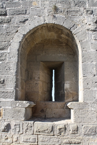 Embrasure, Aigues-Mortes