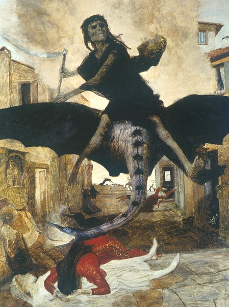 The Plague by Arnold Bocklin