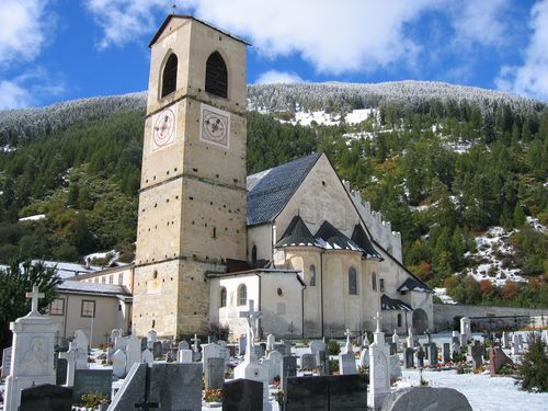 Abbey of Saint John at Müstair, Switzerland