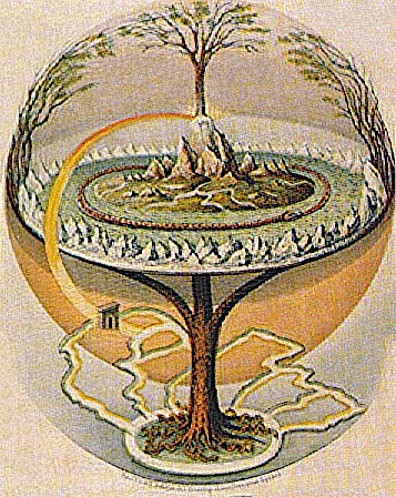 A Representation of the Norse Yggdrasil
