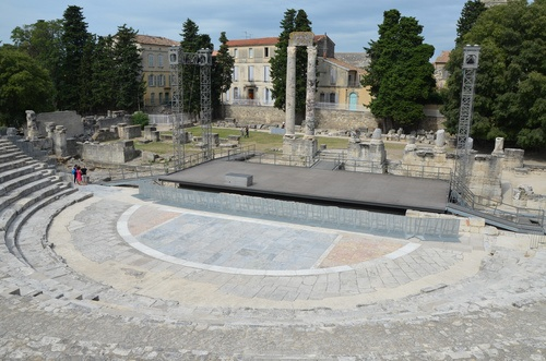 The Roman Theatre of Arles