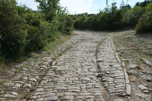 Roman Road in Ambrussum