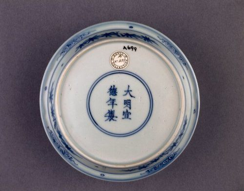 Ming Porcelain Reign Inscription