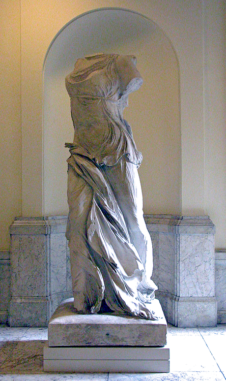 Plaster Copy of the Nike