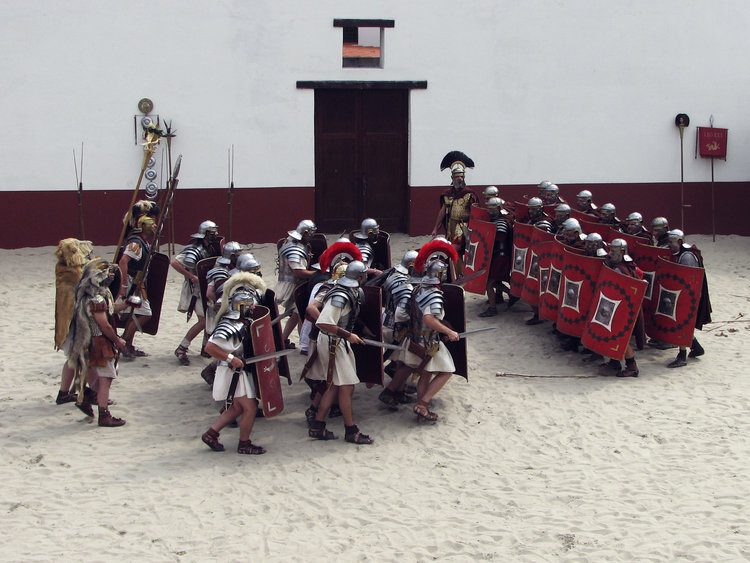 Roman Army Reenactment