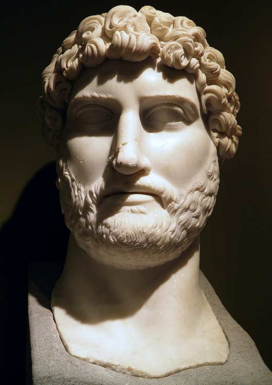 Colossal Marble Head of Hadrian from Sagalassos