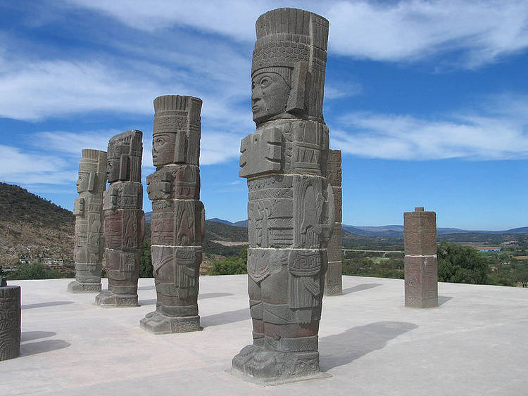 Toltec Warrior Columns