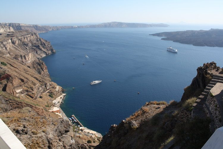 Volcanic Crater of Thera (Santorini)