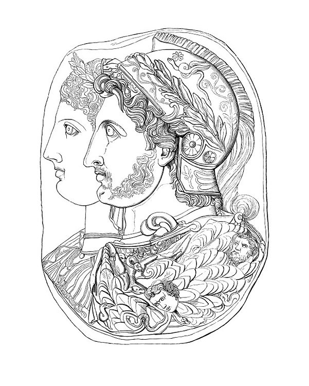 Ptolemy I Soter and Wife Eurydice