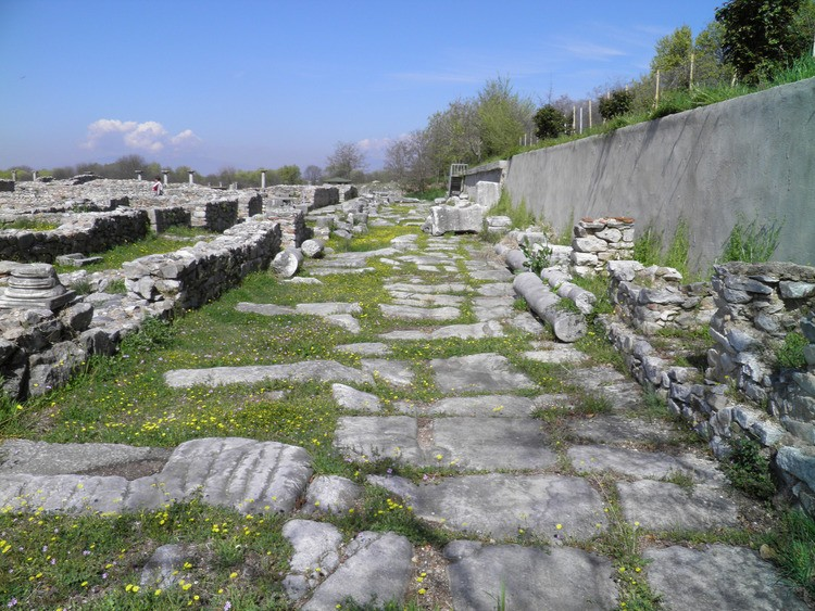Via Egnatia in Philippi