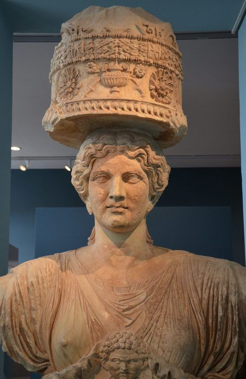 Caryatid from Eleusis