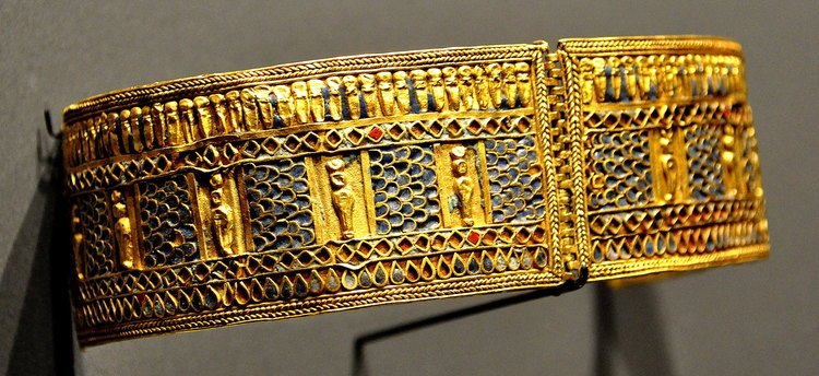 Armlet with Mummiform Gods from Meroe