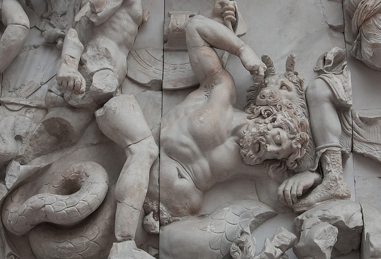 The Giant Killed by Artemis