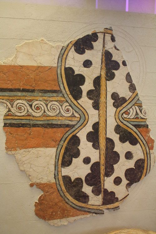 Shield Fresco, Mycenae