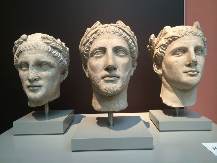 Three Hellenistic Heads, Cyprus