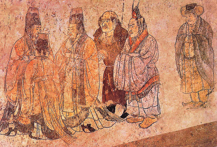 Korean Ambassadors to the Tang Court
