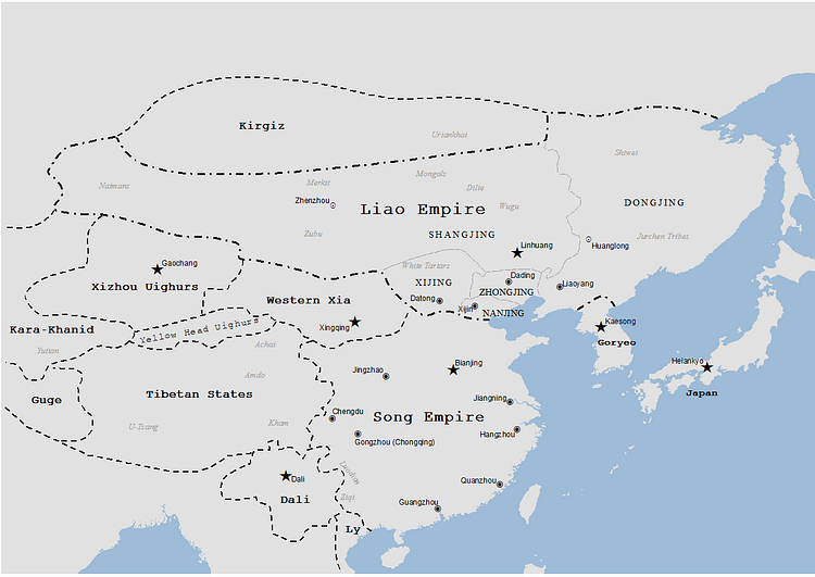 Liao Dynasty Map