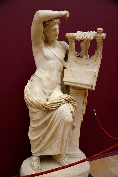 Statue of Apollo Playing the Cithara from Miletus