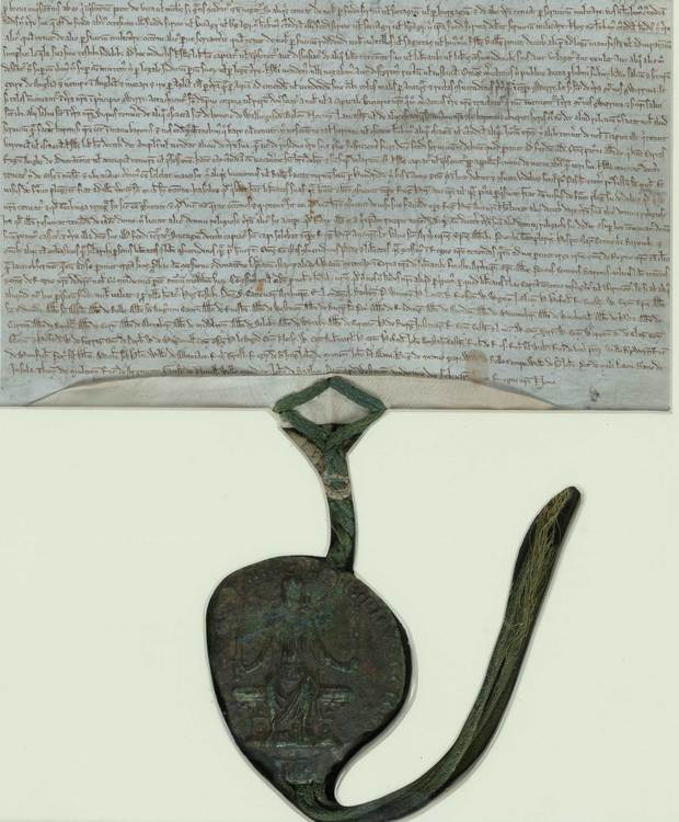Magna Carta with Royal Seal