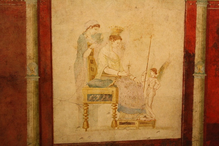 Roman Aristocratic Lady, Villa of the Farnesina Fresco