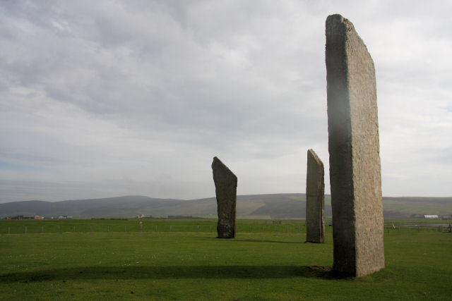 Standing Stones of Stenness (Illustration)